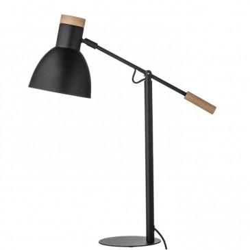 LAMPA STOŁOWA MATOWA CZERŃ BLOOMINGVILLE