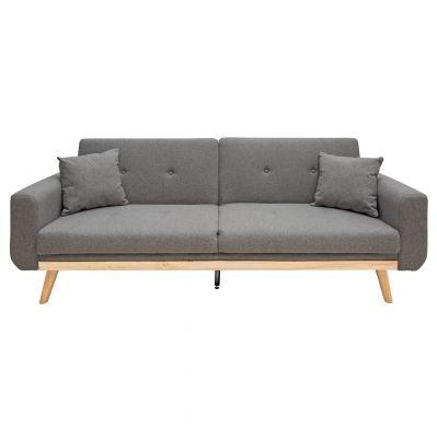 sofa z funkcj± spania Skagen antracytowa invicta interior