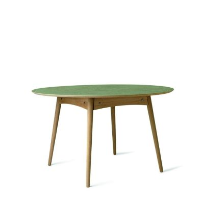 EAT DINNING TABLE GREEN MATER