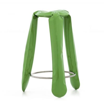 PLOPP BAR STOOL GREEN ZIETA