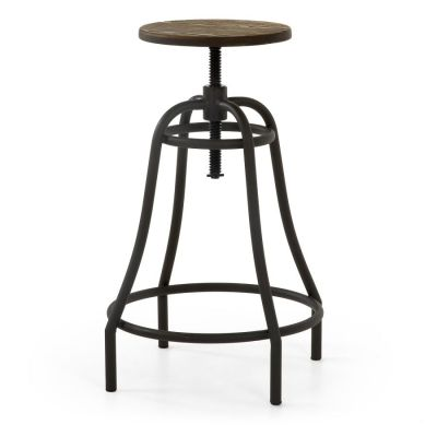 BAR STOOL RONDA GRAPHITE