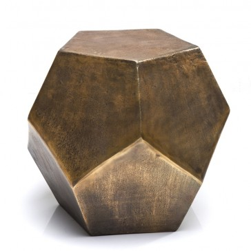 SIDE TABLE BLOCK COPPER