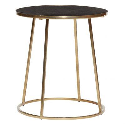 stolik kawowy gold hubsch