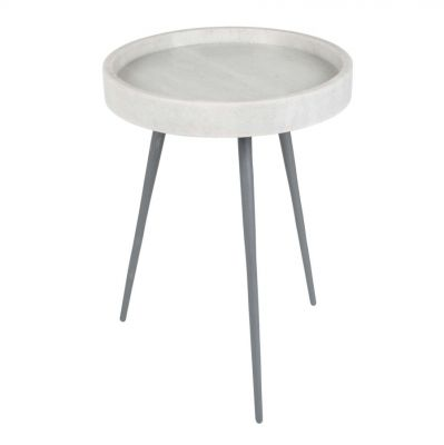 TUDO SIDE TABLE WHITE