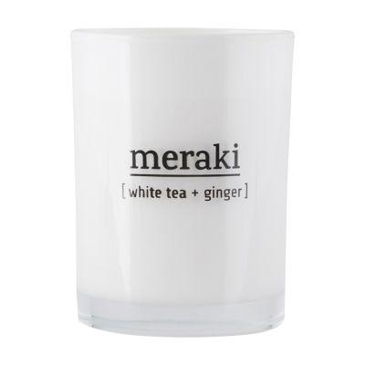 ¦wieca Zapachowa white tea&ginger MERAKI