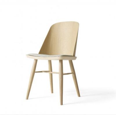 SYNNES CHAIR NATURAL OAK WITH THE WOOL SEAT MENU