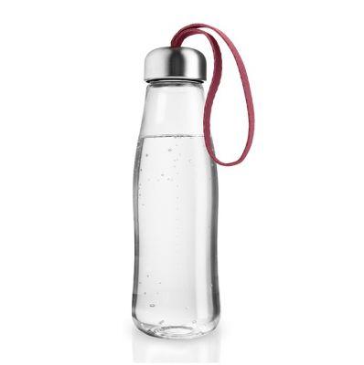 szklana butelka bordo eva solo