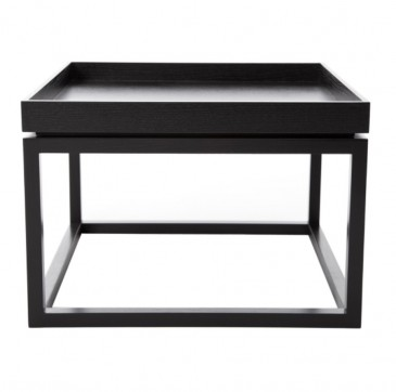 TIME BLACK COFFEE TABLE NORR 11