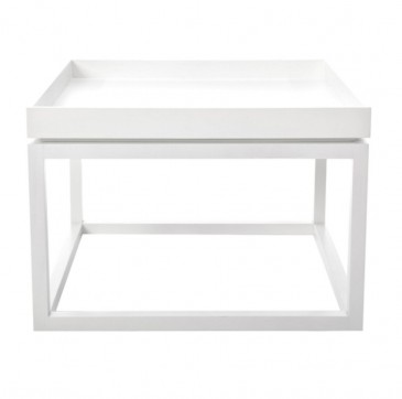 TIME COFFEE TABLE WHITE NORR 11