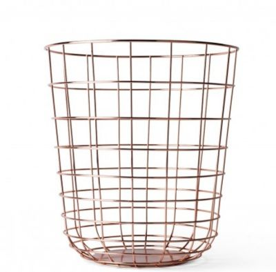 WIRE BIN COPPER MENU