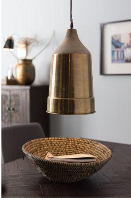 LAMPA WISZ¡CA WOOD TOP MOSIʯNA DUTCHBONE