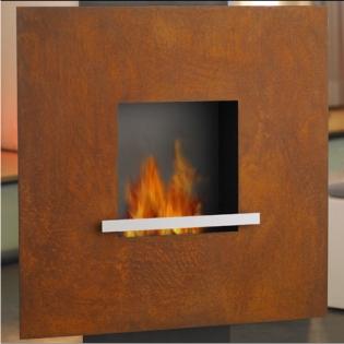BIOFIREPLACE FIRE&FLAMME CORTENSTAHL