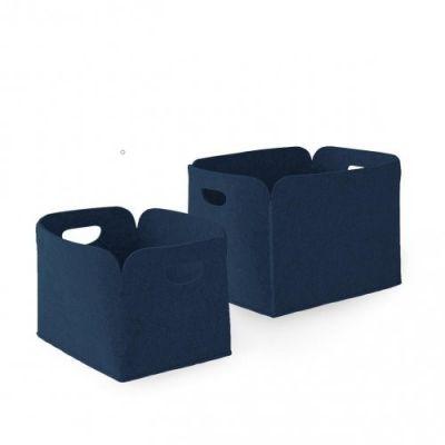 zestaw 2 koszy do przechowywania daryl ciemnoniebieski CALLIGARIS