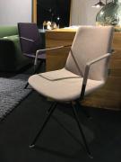 Krzesło Eifel Elips Z Podł. Tk. Oslo Beż