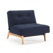Fotel Rozkładany Ample Mixed Dance Blue Innovation