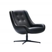 Fotel Lovebird Aniline Black Sits