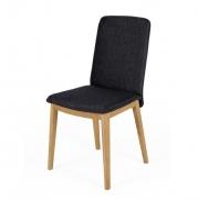 Krzesło Adra Antracytowe Woodman