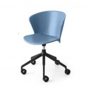 Krzesło Biurowe Bahia Cs1839 Niebieskie Calligaris