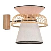 Lampa Ścienna Mekko Biało-Różowa Market Set