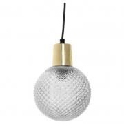 LAMPA WISZĄCA CLEAR GLASS 14X19 CM BLOOMINGVILLE