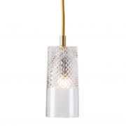 Lampa Wisząca Crystal Bates Gold Ebb&flow
