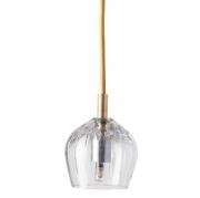 Lampa Wisząca Crystal Cognac Gold Ebb&flow