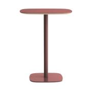 Stół Form 70X70Xh94,5 Cm Czerwony Normann Copenhagen