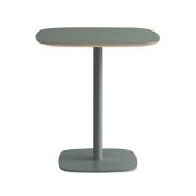 Stół Form 70X70Xh74,5 Cm Zielony Normann Copenhagen