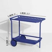Wózek Barowy Week-End Niebieski Petite Friture