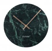 Zegar Marmurowy Time Zielony Zuiver