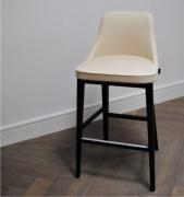 Krzesło Barowe Rifin Drewniana Podstawa