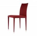 Krzesło Keene Czerwone