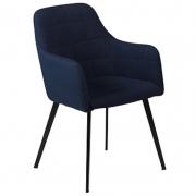 Krzesło Dona Niebieskie