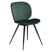 Krzesło Nuvola Zielone Velvet