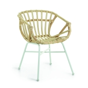Krzesło Ogrodowe Rubin Naturalne