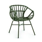 Krzesło Ogrodowe Rubin Zielone