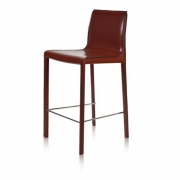 Krzesło Barowe Verona Burgundowe