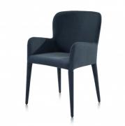 Krzesło Averno Szaro-Niebieskie
