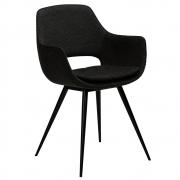 Krzesło Odessa Czarne