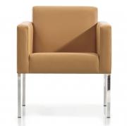 Krzesło Artica Tap. Naturalną Skórą Sancal