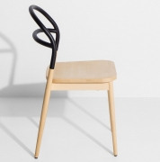 krzesło dojo czarne Petite Friture