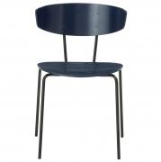 Krzesło Herman Granatowe Ferm Living