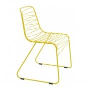 Krzesło Ogrodowe Flux Żółte Magis