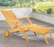 Leżak Ogrodowy Deckchair Rondo