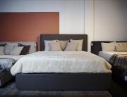 Łóżko Tapicerowane Giada