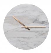 Zegar Marmurowy Time Biały Zuiver